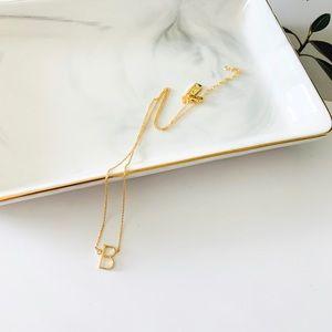 ❗️LAST1❗️Kate Spade Initial Pendant Necklace - B